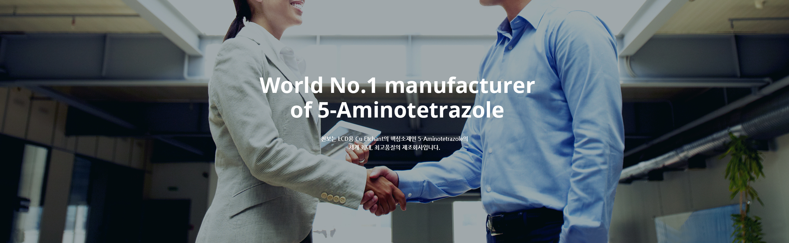 world No1 manufacturer of 5-Aminotertrazole